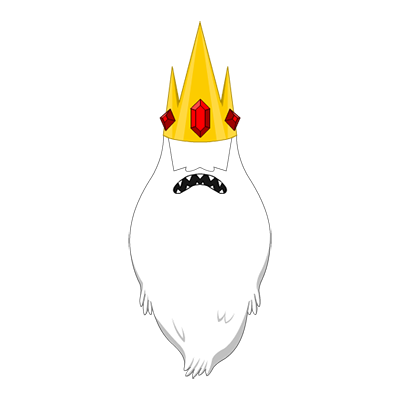 ​Ice King Beard And Crown