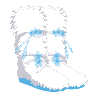 Crystalized Boots