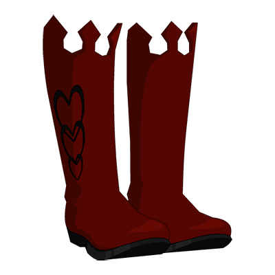 Frost Courtier Boots - Winter Love Variant