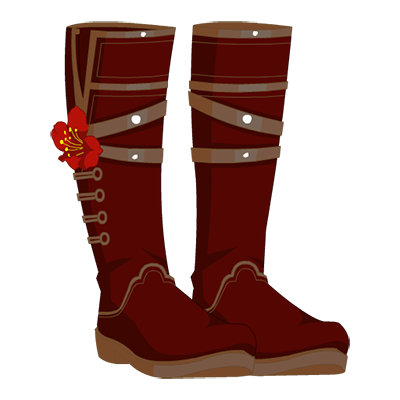 Frigid Floral Boots - Winter Love Variant