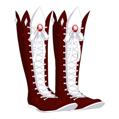 Deep Frost Divination Boots - Winter Love Variant