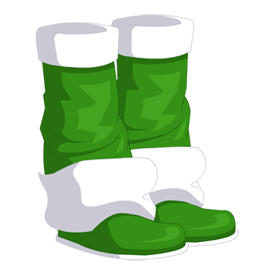 Sprout Wizard Boots