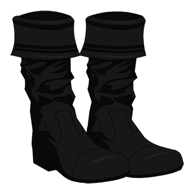 Cur Pirate Boots