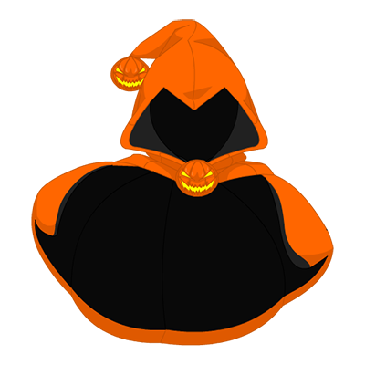 Fright-O-Lantern Cape