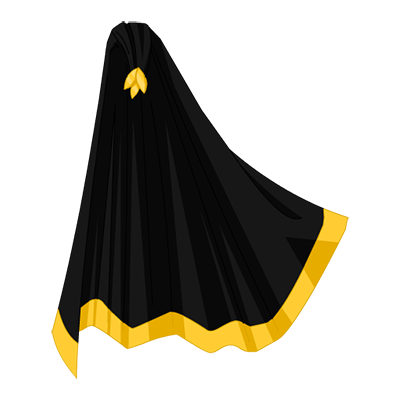 Gold Leaf Dark Cape