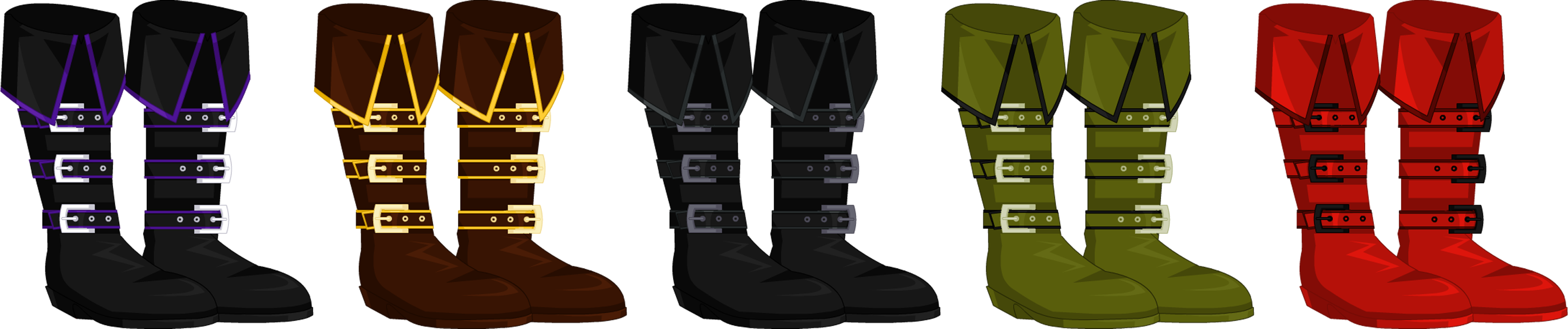 Sept. 2015 Captain Of Black Water Boots