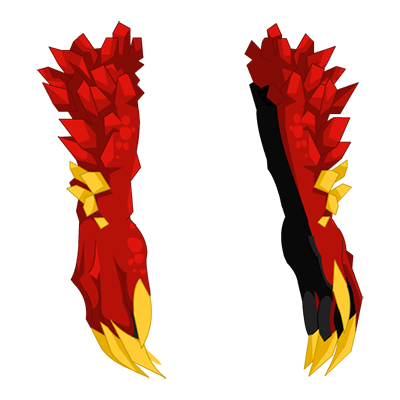 Crimson Flame Basilisk Claws
