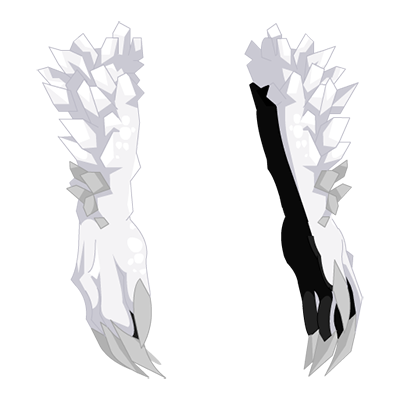 Ivory Snow Basilisk Claws