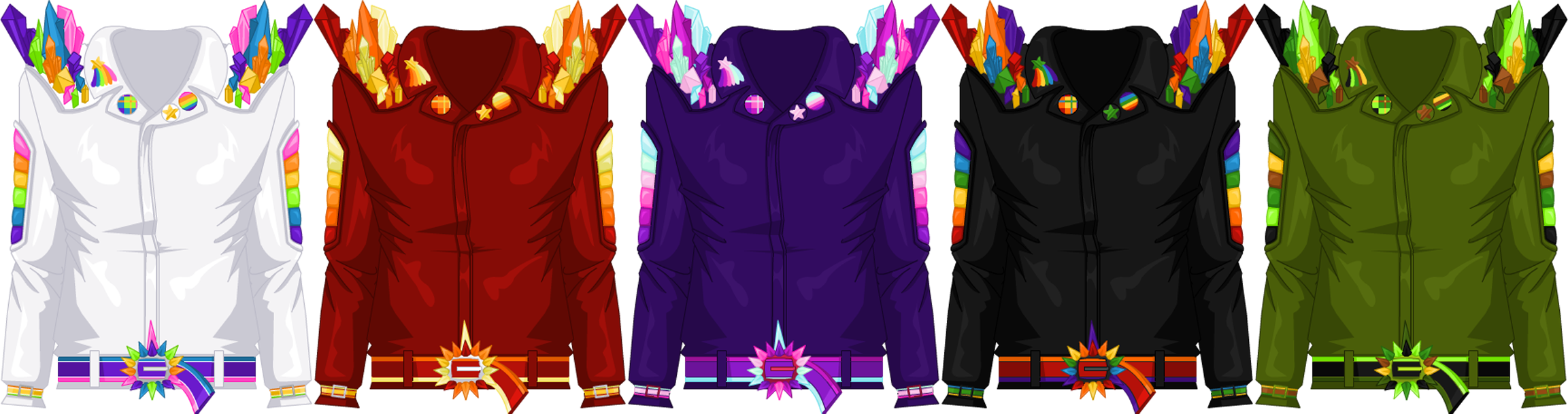 Mar. 2015 Crystal Rider Jacket