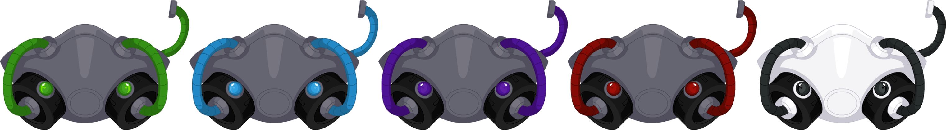 June 2015 Cyborg Raver Mask