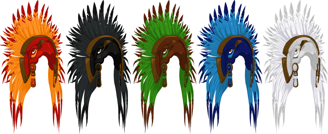 May 2013 Eagle Warrior Headdress