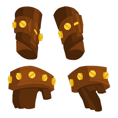 Nostalgic Bolt Gloves