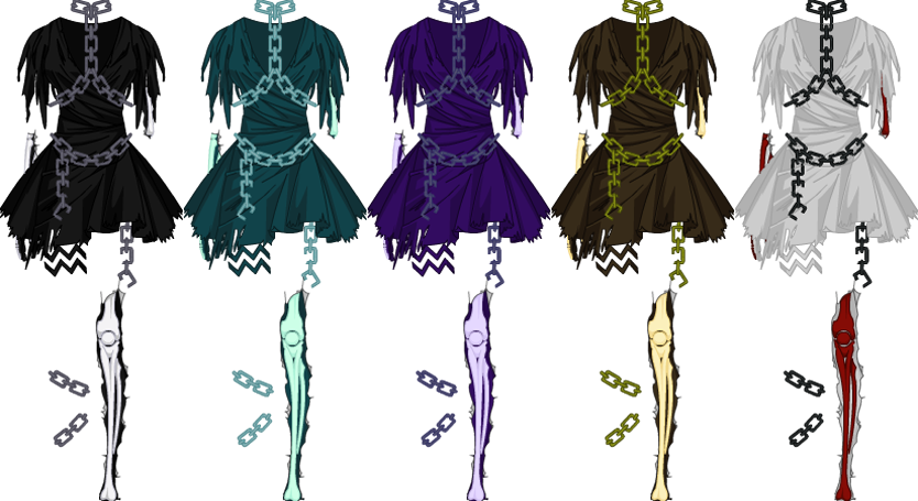 Bone Mage Dress - Female