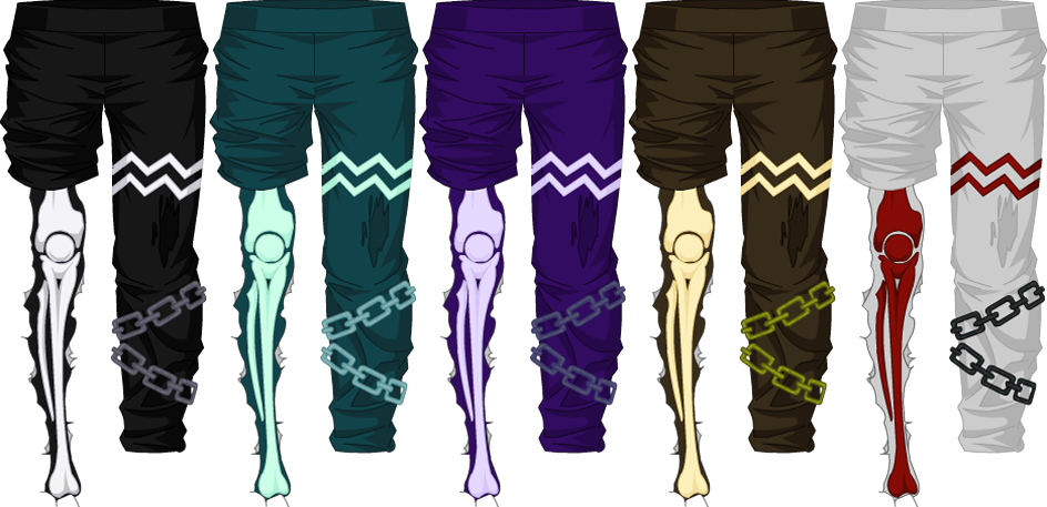 Bone Mage Pants - Male