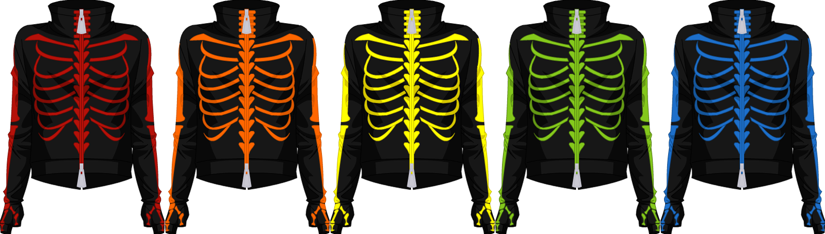 Club Skeleton Jacket - Male