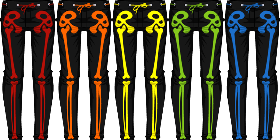 Club Skeleton Pants - Male