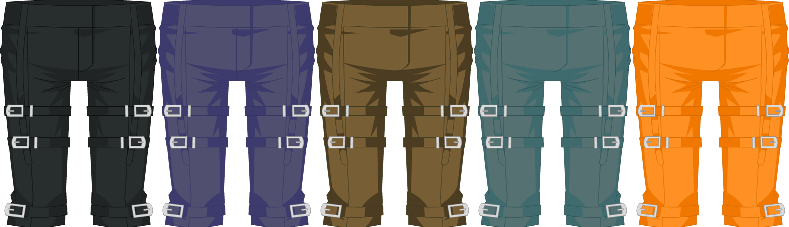 Knife-Head Pants - Male