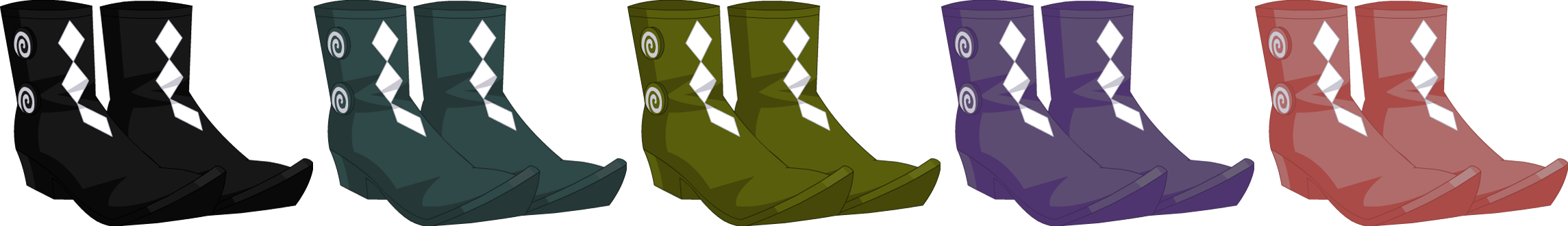 Topsy-Turvy Boots - Female