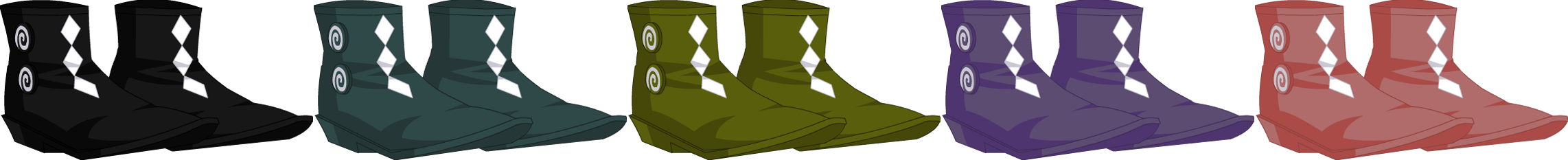 Topsy-Turvy Boots - Male