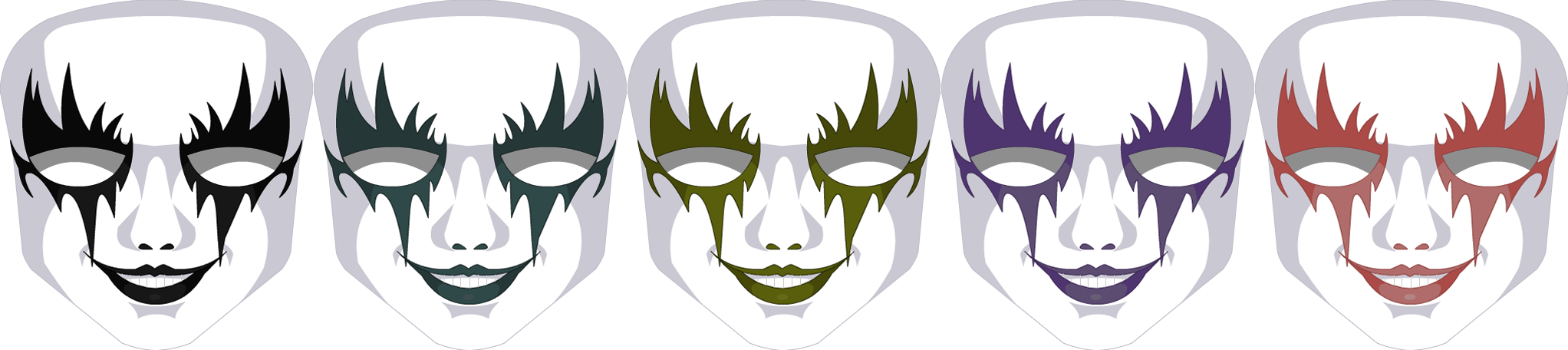 Topsy-Turvy Mask - Female