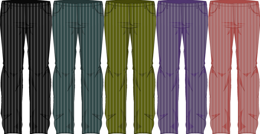 Topsy-Turvy Pants - Male