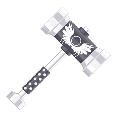 Angelic Light Variant Hammer