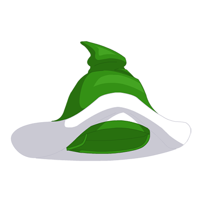 Sprout Wizard Hat