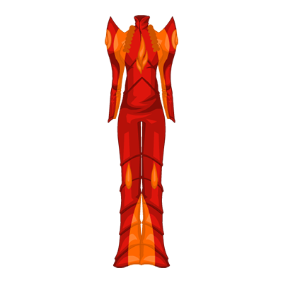 Flame Wizard Jumpsuit