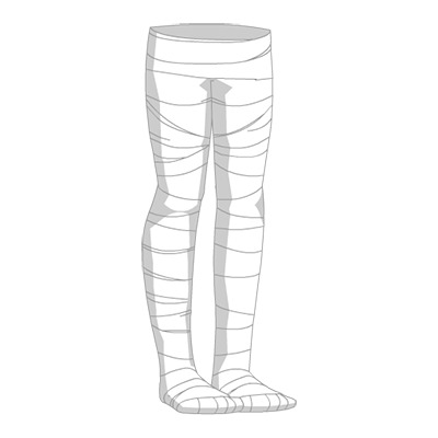 Mummy Wrap Leggings Box Variant