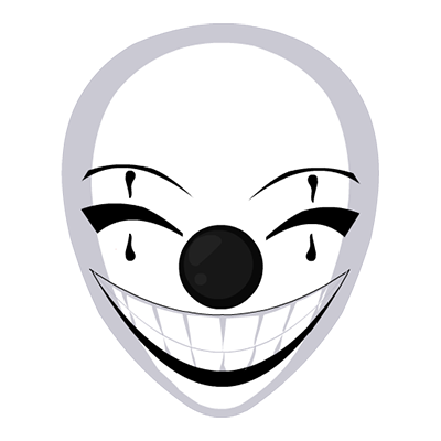 Joyful Clown Mask