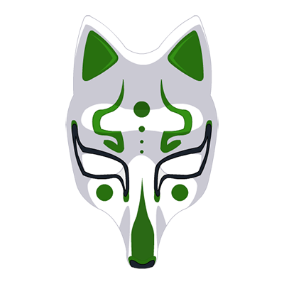 Cunning Fox Nin Mask