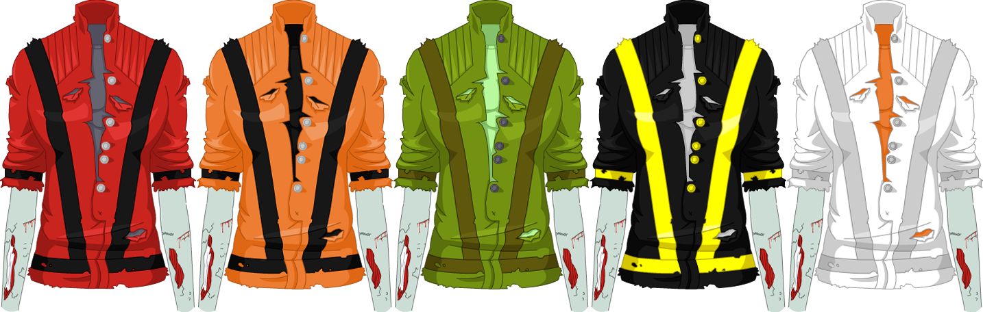 October 2008 Thriller Zombie Jacket - Female
