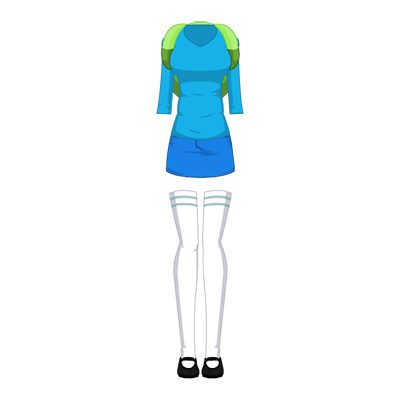 Fionna The Human Outfit