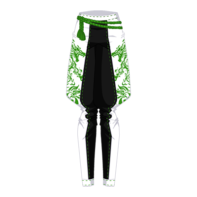 Silent Dragon Nin Pants