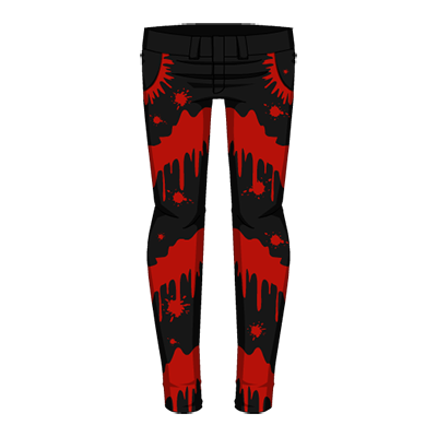 Splatter Pants Dark Variant