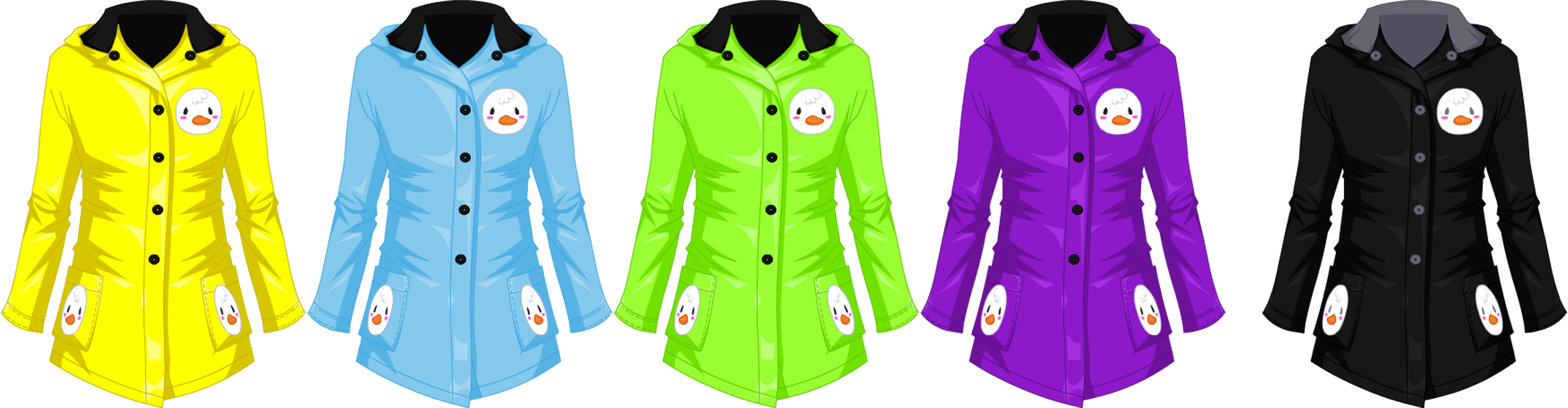 Apr. 2016 Rainy Day Duckling Jacket