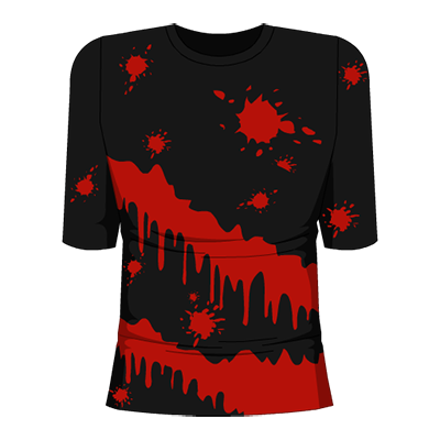 Splatter Shirt Dark Variant