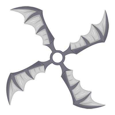 Giant Bat Shuriken