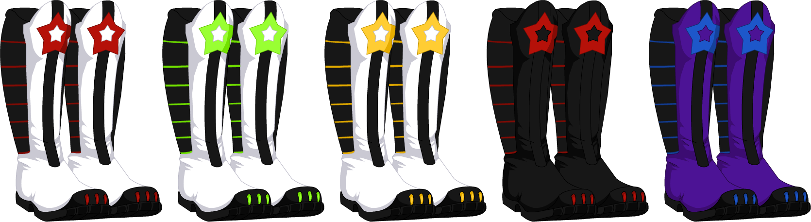 Jan. 2012 Space Ranger Boots