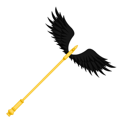 Hermes' Dark Staff