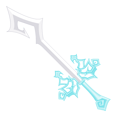 Snow Flurry Elf Sword