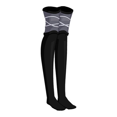 Espionage Ninja Thigh-Highs
