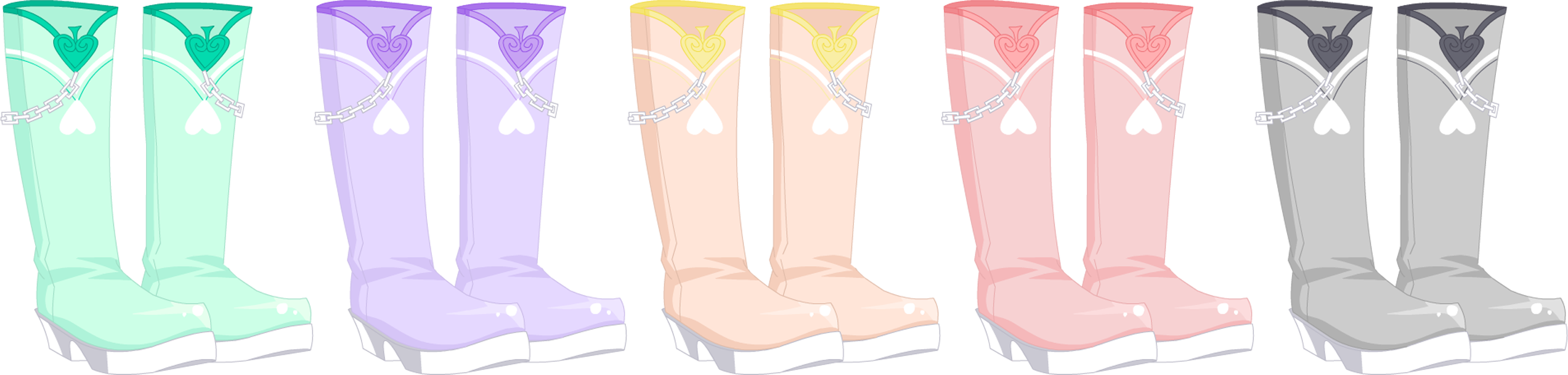 Feb. 2015 True King Of Hearts Boots
