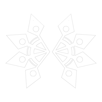 Snowflake Wings Light Variant