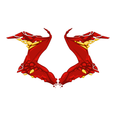 Crimson Flame Basilisk Wings