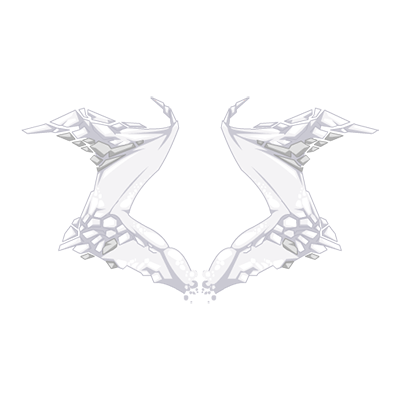 Ivory Snow Basilisk Wings
